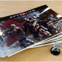 Afterlife Ed1 v1.3 Rulebook from Anvil Industry - Wargame book