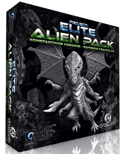 Alien Pack for Project: ELITE boardgame from Artipia Games & Drawlab Entertainment - Boardgame accessory