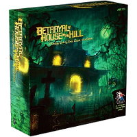 Betrayal at House on the Hill board game from Avalon Hill Games, 2004 - Board game review