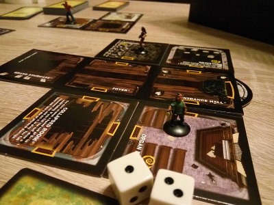 Betrayal at House on the Hill board game (Avalon Hill Games) - Board game review from Ottó