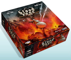 Blood Rage boardgame base set from CoolMiniOrNot - Boardgame base set review