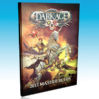Dark Age 2017 Master Rules for Dark Age from CoolMiniOrNot, 2017 - Wargame book review
