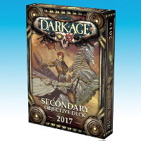 Secondary Objective Deck 2017 for Dark Age from CoolMiniOrNot, 2017 - Wargame accessory review