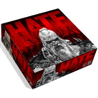 HATE boardgame base set for HATE boardgame from CoolMiniOrNot, 2019 - Boardgame base set review