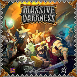 Massive Darkness boardgame base set from CoolMiniOrNot - Boardgame base set review