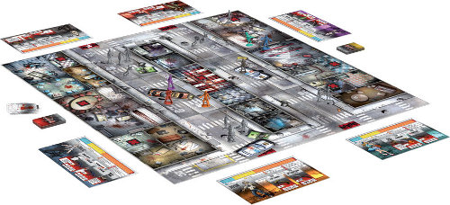 Zombicide Season 1 from Guillotine Games & CoolMiniOrNot - Contents