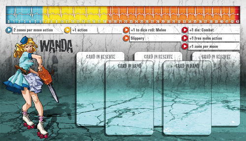 Zombicide Season 1 from Guillotine Games & CoolMiniOrNot - Player sheets