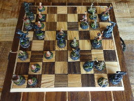 Aliens vs Predator Chess from Scenery World Workshop