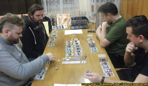 Nexus Club Miskolc - Boardgame and wargame gaming event in the Gémeskút (2017.12.21) - Event coverage