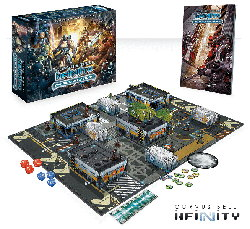 Operation: Icestorm for Infinity from Corvus Belli, 2014 - Wargame base set review