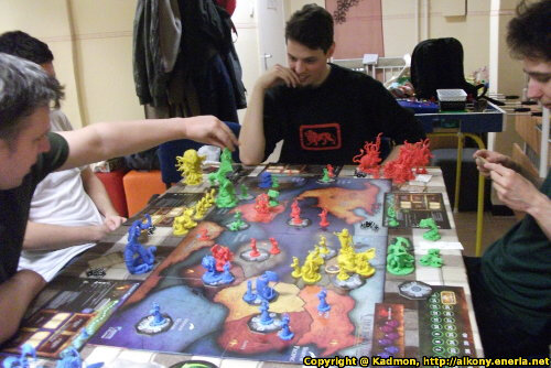 Cthulhu Wars board game (Petersen Games) - Board game review by Ottó