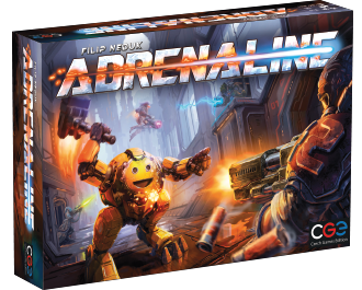 Adrenaline boardgame from Czech Games Edition - Boardgame