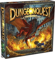 DungeonQuest Revised from Fantasy Flight Games - Boardgame