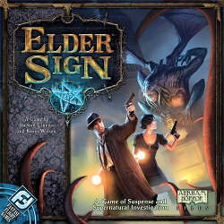 Elder Sign board game (Fantasy Flight Games) - Board game review by Ottó