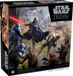 Star Wars: Legion Core Set wargame base set from Fantasy Flight Games, 2017