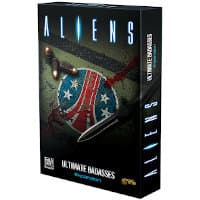 Aliens: Ultimate Badasses for Aliens (GF9) from Gale Force Nine, 2020 - Board game expansion review