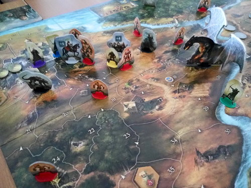 Legends of Andor board game (KOSMOS / Piatnik) - Board game review by Ottó