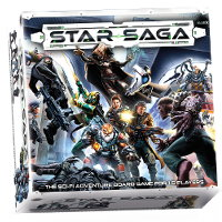 Star Saga: The Eiras Contract Core Set boardgame base set from Mantic Games, 2017 - Boardgame base set review
