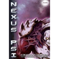 Nexus Psi Campaign Book for Deadzone Ed1 from Mantic Games - Wargame book