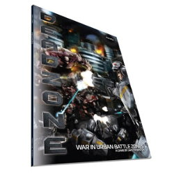 Deadzone Ed1 Rulebook from Mantic Games - Wargame book