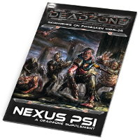 Nexus Psi Sourcebook for Deadzone Ed2 from Mantic Games - Wargame book