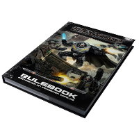 Deadzone Ed2 Rulebook from Mantic Games - Wargame book