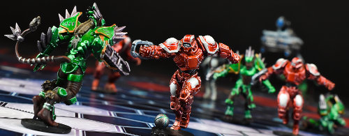 DreadBall Ed2 boardgame base set from Mantic Games, 2018