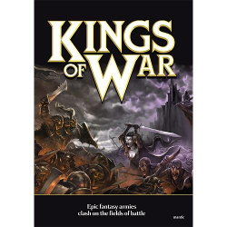 Kings of War Ed1 Rulebook from Mantic Games - Wargame book