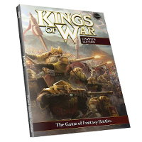 Kings of War Ed2 Gamer's Edition Rulebook from Mantic Games - Wargame book