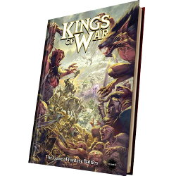 Kings of War Ed2 Rulebook from Mantic Games - Wargame book