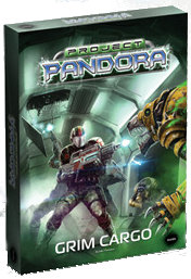 Project Pandora: Grim Cargo boardgame base set from Mantic Games, 2012 - Boardgame base set review