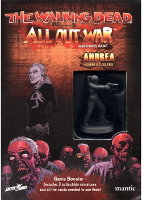 Andrea Booster for the The Walking Dead: All Out War from Mantic Games - Boardgame expansion