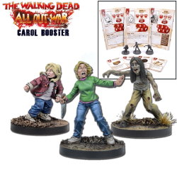 Carol Booster for the The Walking Dead: All Out War from Mantic Games - Boardgame expansion