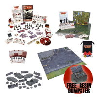 The Walking Dead: All Out War Mega Survival Kit from Mantic Games - Boardgame