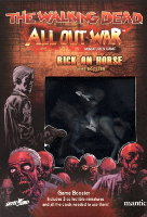 Rick on Horse Booster for the The Walking Dead: All Out War from Mantic Games - Boardgame expansion