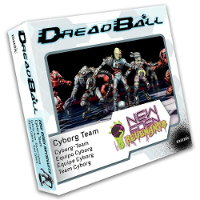 New Eden Revenants - Cyborg Team set for DreadBall Ed2 from Mantic Games, 2018