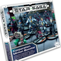 Corporation Minion Booster set for Star Saga from Mantic Games, 2017 - Miniature figure set review