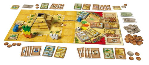 Camel Up Ed1 board game base set for Camel Up Ed1 from Pegasus Spiele, 2014 - Board game base set review