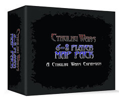 6-8 Player Map for Cthulhu Wars from Petersen Games - Boardgame expansion
