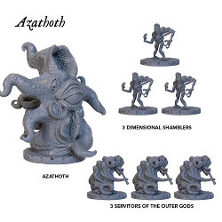 Azathoth Neutral Expansion for Cthulhu Wars from Petersen Games - Boardgame expansion