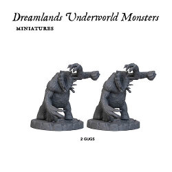 Dreamlands Underworld Monster Expansion for Cthulhu Wars from Petersen Games - Boardgame expansion