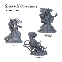 Great Old One Pack 1 for Cthulhu Wars from Petersen Games - Boardgame expansion