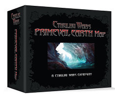 Primeval Map Expansion for Cthulhu Wars from Petersen Games - Boardgame expansion