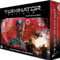 Terminator Genisys: The War Against the Machines wargame base set from River Horse, 2016
