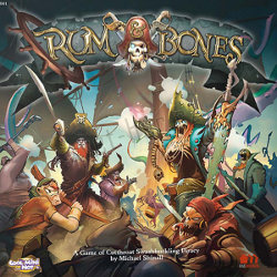 Rum & Bones Ed1 boardgame base set for Rum & Bones Ed1 from CoolMiniOrNot, 2015 - Boardgame base set review