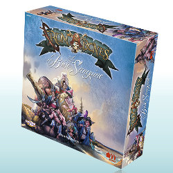 La Brise Sanguine board game expansion for Rum & Bones Ed1 from CoolMiniOrNot, 2015 - Board game expansion review