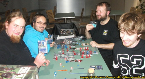 Nexus Club Miskolc - Boardgame and wargame gaming event in the Szinvapark (2017.11.17) - Event coverage