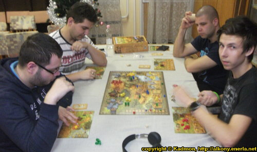 Nexus Club Miskolc - Boardgame and wargame gaming event in the Gémeskút (2018.01.04) - Event coverage