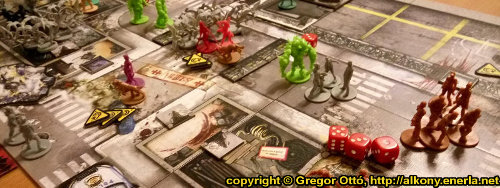 Zombicide boardgame - That's a tower - Gameplay narrative by Ottó