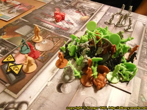 Zombicide board game - It's Halloween! - Gameplay narrative by Ottó